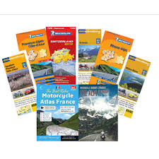 Alps On A Map The French And Swiss Alps Motorcycle Maps Bundle Alps Book The