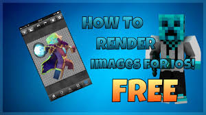 how to render a picture ios youtube