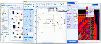 how to draw circuit diagram pcb layout and simulate circuit online
