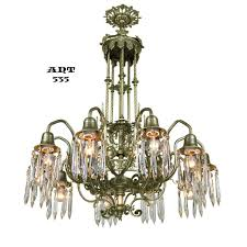 Vintage Crystal Chandelier For Sale Antique Crystal Chandelier Gothic Style 10 Arm Ceiling Light