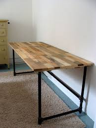 Diy Wood Desk Salvaged Wood And Pipe Desk By Riotousdesign On Etsy 650 00 Usd