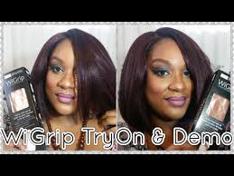 wig grips for women that have hair wigrip review and testing wig grip youtube
