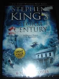 stephen king u0027s storm of the century dvd new includes 6 bonus