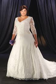 plus size wedding dresses with long lace sleeves list of wedding