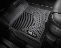 Ford F350 Truck Floor Mats - husky x act contour floor liners husky custom molded floor mats