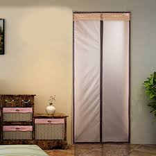 Interior Door Insulation Magnetic Thermal Insulated Door Curtain Enjoy Your Cool Summer And