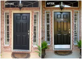 colors for front doors garage door shiny painted black door garage painting paint