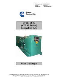 kta 38 genset parts manual radiator relay