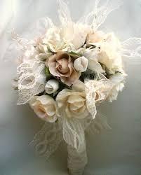 vintage bouquet vintage chic wedding vintage bouquet shabby chic wedding ivory