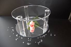 acrylic cake stands base acrylic cake stand separator