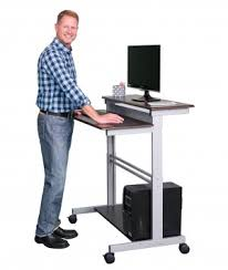 Stand Up Computer Desk by Fixed Standing Desks Stand Up Desk Store