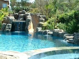 rock waterfalls for pools rock waterfall pool rustic rock waterfalls into pools artificial