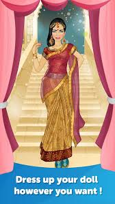 indian bride dress up fun doll makeover game apps 148apps