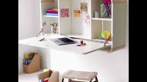 hideaway desk ideas to save your space youtube