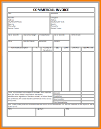 example commercial invoice 5 commercial invoice template receipt templates
