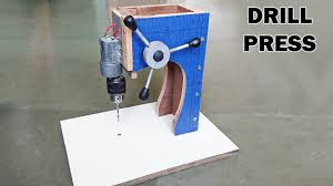 how to make a drill press machine at home youtube
