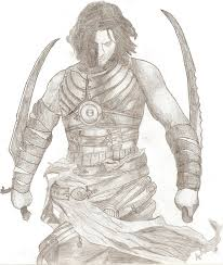 prince of persia real pencil drawing by ankush pearltrees