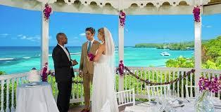 sandals jamaica wedding jamaica wedding packages all inclusive honeymoon resort packages