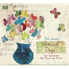 Sarah J Home Decor Whimsical Days 2015 Wall Calendar 057126972995 Calendars Com