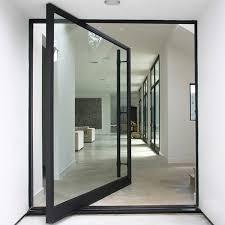 Hurricane Exterior Doors Chimei 4 Panel Glass Exterior Door 11 Impact Pivot Doors