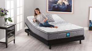 Adjustable Queen Bed Sleepmaker Miracoil 500i Adjustable Queen Base Mattresses