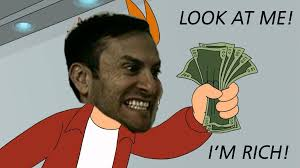 Rich Memes - fry is rich look at this i m rich know your meme