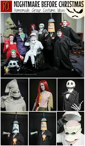 awesome nightmare before christmas group costume costumes