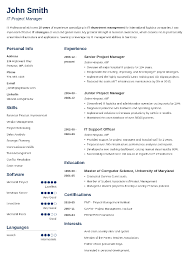 my resume template 20 resume templates create your resume in 5 minutes