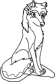aleu alpha and omega wolf coloring page wecoloringpage