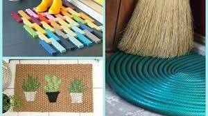 Unique Doormats Diy Doormats Home Decor Ideas Youtube