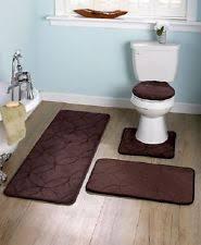 Memory Foam Bathroom Rug Set Memory Foam Bath Mats Ebay