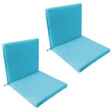 Waterproof Chair Pads Back U0026 Seat Outdoor Waterproof Chair Pad Cushion Garden Patio