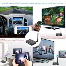 car wifi display dongle receiver airplay mirroring miracast hd
