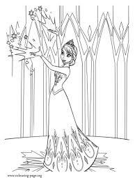 new frozen coloring pages frozen elsa begins a new in the mountain coloring page