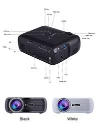 home theater projector under 1000 uhappy u80 800x480 1080p 1000 lumens hd lcd mini led portable