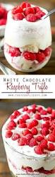 white chocolate raspberry trifle easy dessert recipe with cake