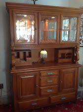 oak china hutch furniture ebay