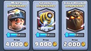 clash royale buy legendary cards clash royale may update