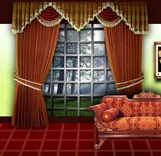 decoration simple and neat kitchen curtain interior design with
