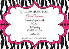 free printable zebra birthday party invitations free printable zebra print birthday invitations dolanpedia