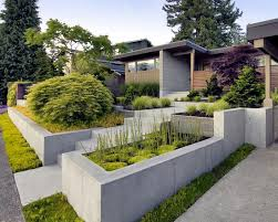 garden retaining wall home design ideas