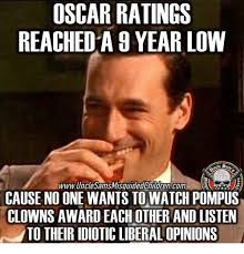 oscar ratings reacheda year low cause no one wants to watch pompus