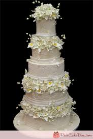 5 tier wedding cake outstanding tiered wedding cakes all wedding cakes custom created
