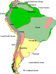 south america climate map climate of south america