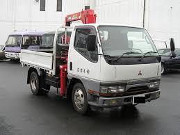 mitsubishi trucks 1997 mitsubishi canter truck 2ton crane japanese used truck buy