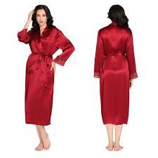 robe de chambre en soie femme robe de chambre femme elegante