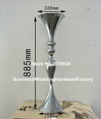 Tall Metal Vases For Wedding Centerpieces by Discount Wholesale Tall Vases Wedding Centerpieces 2017