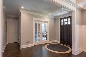Wood Floor In Powder Room - 5 panel paint grade mdf single powder room door and divided lite