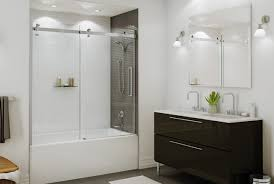 Bathtubs With Glass Shower Doors Tub And Shower Doors Fixtures Etc Kitchen Bath Bathtub Glass