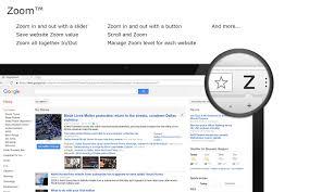 zoom for chrome chrome web store